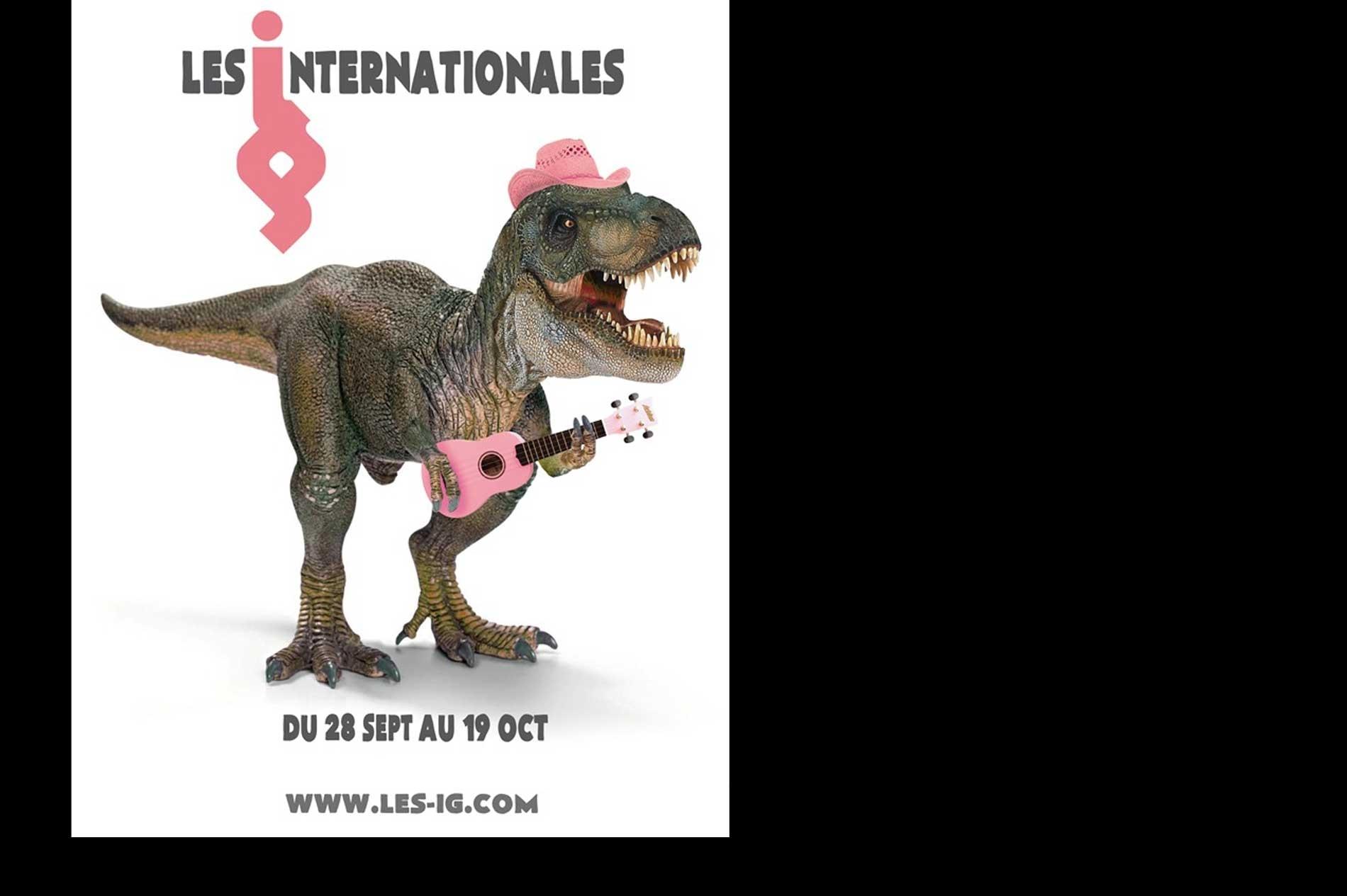 La ''Mascotte'' des Internationales de la Guitare – Montpellier 2013