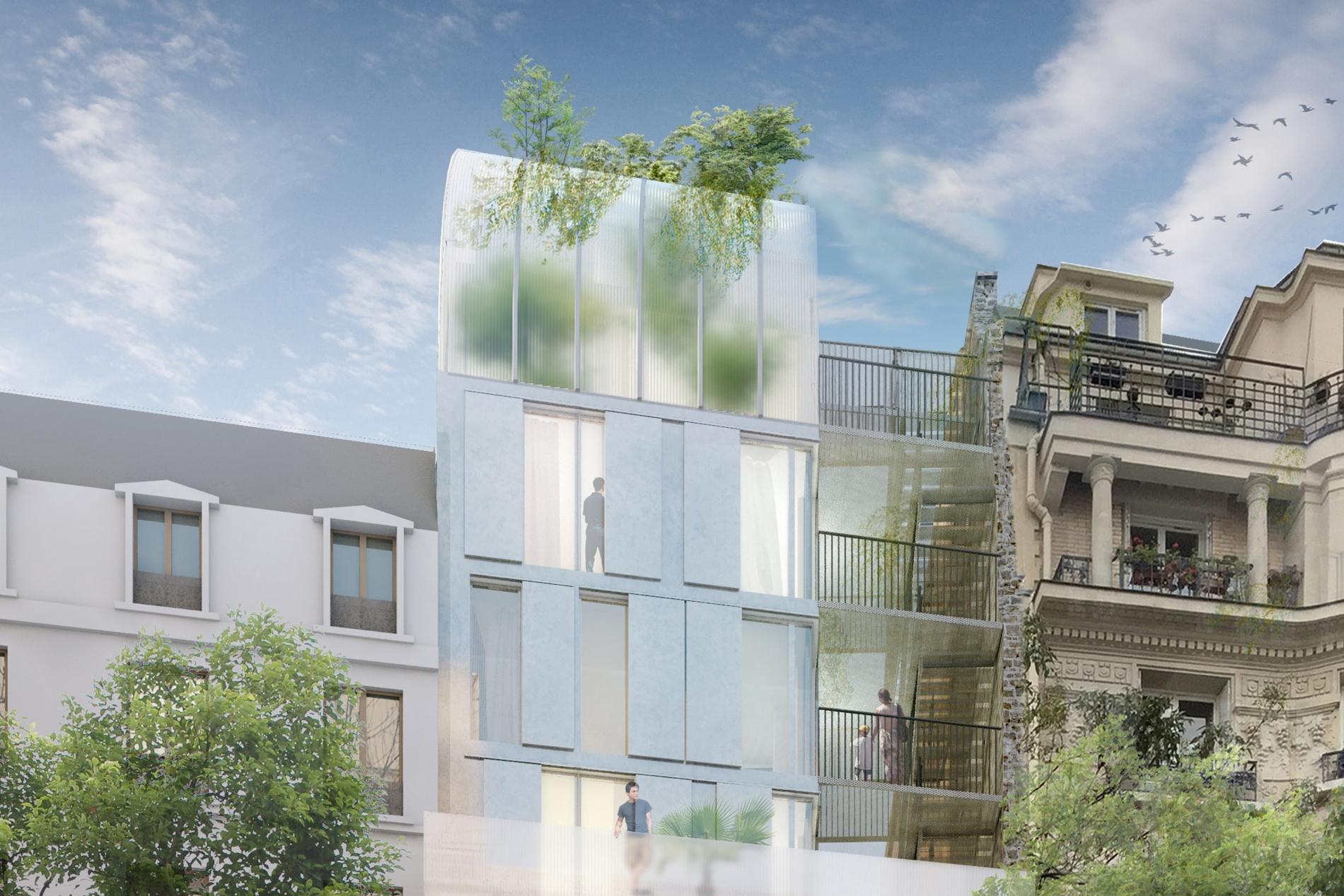 Réinventer PARIS, Projet Ordener -  PARIS 18ème