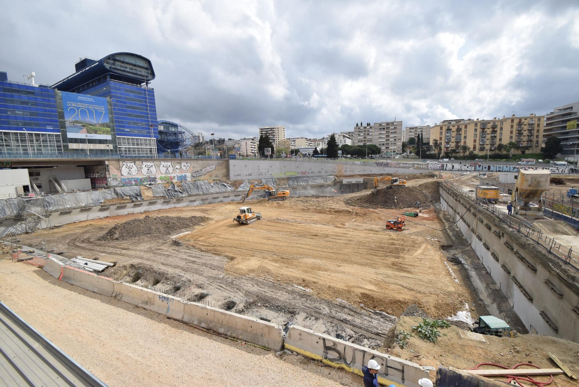 La Calanque en chantier à Marseille !
